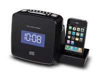 Soundmaster CD/MP3 Stereo Clock Radio with iPhone Docking