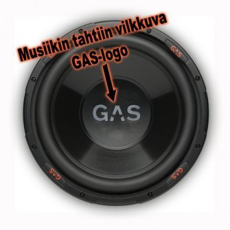 GAS subwoofer ALPHA 1226 12''