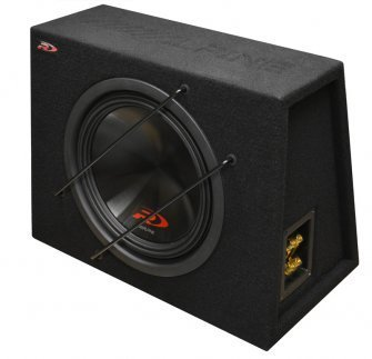 Alpine SWR-12D4 + BOX Subwoofer