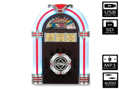 Ricatech RR340 Table Top Jukebox (USB/SD)